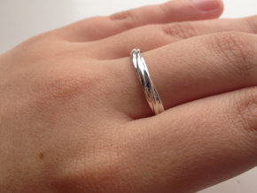 Eternal Regards Ring T( US 10 3/4) (20,17mm) in Polished Silver