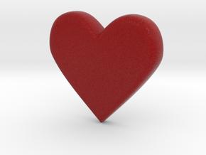 Emoji Heart in Full Color Sandstone