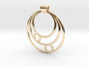 Celestial Circles in 14K Yellow Gold