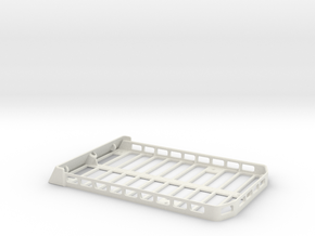Axial SCX10 Jeep Roof Rack in White Natural Versatile Plastic