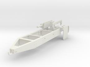 1/25 Logging truck end frame, triangle end in White Natural Versatile Plastic