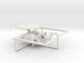 144 VE1 Elint Seeker Upgrade in White Natural Versatile Plastic