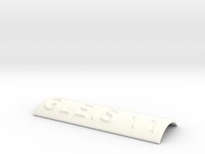 GLEIS 11 in White Processed Versatile Plastic