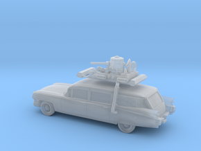 1/87 1959 Cadillac Station Wagon With Roof Rack in Smooth Fine Detail Plastic