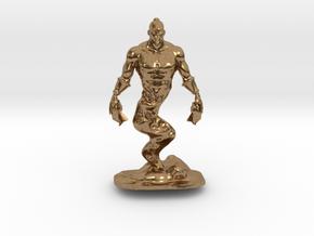 Djinn Genie Miniature in Natural Brass