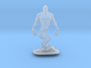 Djinn Genie Miniature in Smooth Fine Detail Plastic