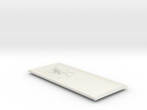 Octo Sushi Plate. in White Natural Versatile Plastic