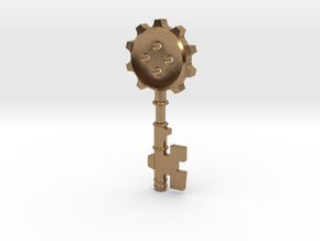 Key Of Clock Tower ver.1 in Natural Brass