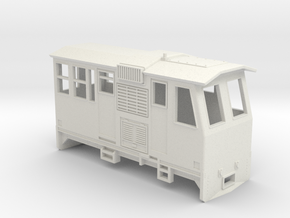 HOn30 Control Car (Kate 3P) in White Natural Versatile Plastic