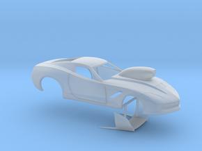 1/43 2014 Pro Mod Corvette in Smooth Fine Detail Plastic