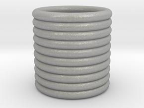 1.35 inch Ringed Napkin Tube in Aluminum
