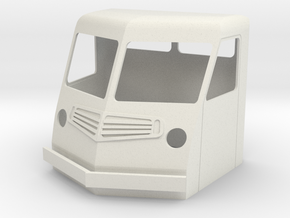 Fs-1-32-far-cab-1a in White Natural Versatile Plastic
