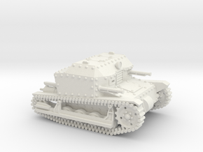 Tancik Vz33 Tankette (20mm) in White Natural Versatile Plastic