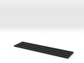 Sand Board in Black Natural Versatile Plastic