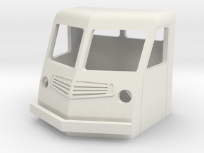 Fs-1-64-far-cab-1a in White Natural Versatile Plastic