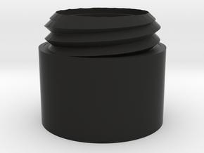Modular DTK AK Silencer: Extension in Black Natural Versatile Plastic
