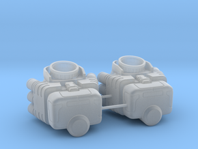 Storm mech lower arms in Smooth Fine Detail Plastic