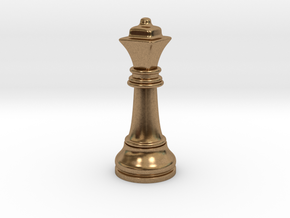 05Queen2 Small Single in Natural Brass