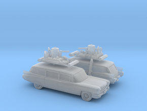 1/160 2X 1959 Cadillac Station Wagon with Roof Rac in Frosted Ultra Detail