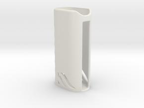 Kangertech Battery Case Subox mini or Topbox mini in White Natural Versatile Plastic