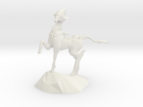 Scout Horse in White Natural Versatile Plastic