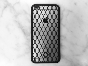 Fence - iPhone 6 Case in Black Natural Versatile Plastic
