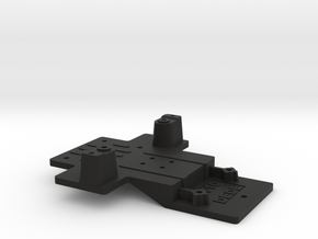Extension CC01 to D110 Gelande 1:10 1/2 in Black Natural Versatile Plastic
