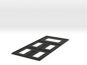 Guild Panel in Black Natural Versatile Plastic