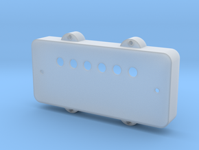 Jazzmaster Pickup Cover - Covered Humbucker Mount in Smooth Fine Detail Plastic