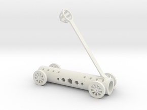 Office desk Catapult V 2.0 (1cm smaller) in White Strong & Flexible