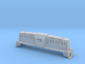 HO-Scale Whitcomb 65 Ton Loco Shell in Smooth Fine Detail Plastic
