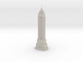Empire State Building Model (1/2000) in Natural Sandstone