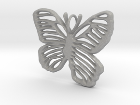 Life is Strange Butterfly Pendant in Aluminum
