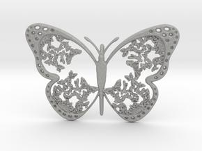Vlinder2 in Aluminum