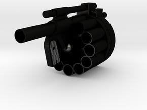 1/4 scale Hawk MM1 Launcher  in Matte Black Steel