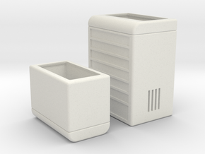 Workshop Storage Split For easy PRinting in White Natural Versatile Plastic