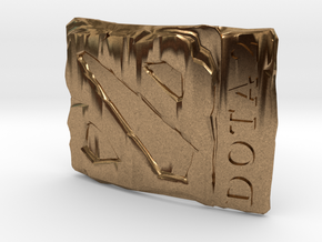 Dota2 Buckle in Natural Brass