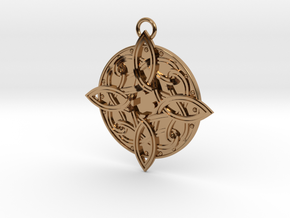 Amulat of Mara - NO GEM in Polished Brass