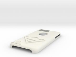 Superman Iphone 6s Plus Case in White Natural Versatile Plastic