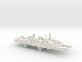 Jacob van Heemskerck-class frigate x 2, 1/3000 in White Strong & Flexible