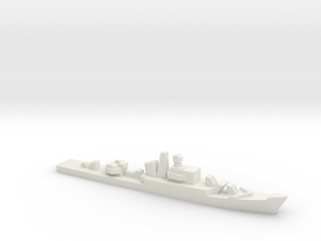 Riga-class frigate, 1/2400 in White Natural Versatile Plastic