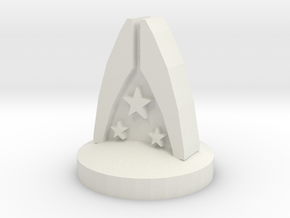 Mass Effect Alliance Ground Forces in White Natural Versatile Plastic