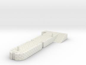 HOpb29 - Old port in White Natural Versatile Plastic