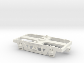 GWR 9' American Bogie-Airfix/Hornby Fit in White Natural Versatile Plastic