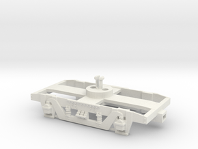 GWR 9' American Bogie Lima Fit in White Natural Versatile Plastic