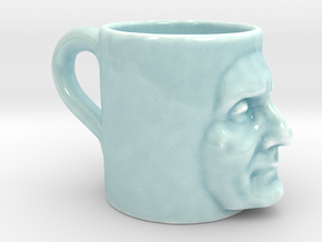 The Ugly Mug in Gloss Celadon Green Porcelain