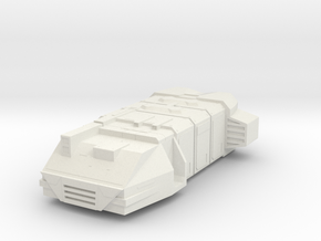 Cargo Ship in White Natural Versatile Plastic