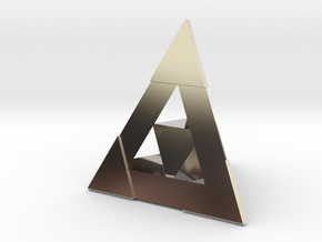 Ember's Pendant in Platinum