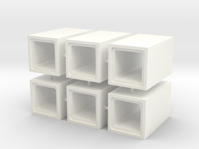 HO - Scatolare 800x800 in White Strong & Flexible Polished