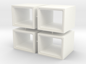 HO - Scatolare 1600x1200 in White Strong & Flexible Polished